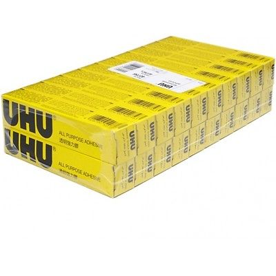 20 X Uhu All Purpose Glue 20ml Extra Strong Clear Adhesive