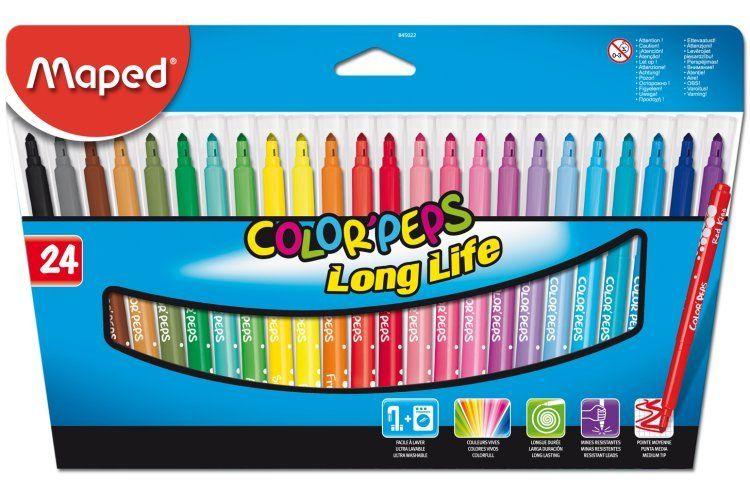 Berol Colour Broad Fibre Tip Pens 1.7mm Line Width (Black) Pack of 12 Pens  S0375350