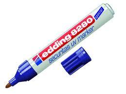 EDDING 8280 SECURITY UV MARKER - PROFESSIONAL QUALITY