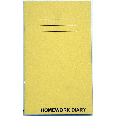 HOMEWORK DIARY 84 Page - 6 Day Week - Rhino Branded