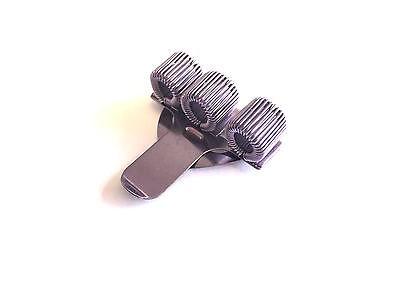 Doctors Perfect for Nurses 1 x Purple Treble Triple Pen Holder Pocket Pen Clip