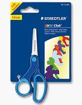 2 x STAEDTLER NORIS CLUB LEFT HANDED CHILDREN KIDS SAFETY SCISSORS