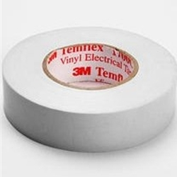 20 x 3M PVC ELECTRICAL INSULATION TAPE PROFESSIONAL QUALITY 18mm x 20M WHITE