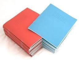 4 x SCHOOL EXERCISE BOOKS MATHS SMALL 5mm SQUARES A5