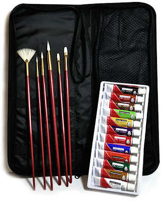 ARTISTS OIL PAINTING 19 PIECE KEEP N'' CARRY ART SET BY ROYAL & LANGNICKEL