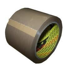 EXTRA WIDE 3M BUFF PARCEL PACKING TAPE 75mm x 66M