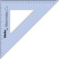 HELIX OXFORD 26cm 45* SET SQUARE SCHOOL MATHS