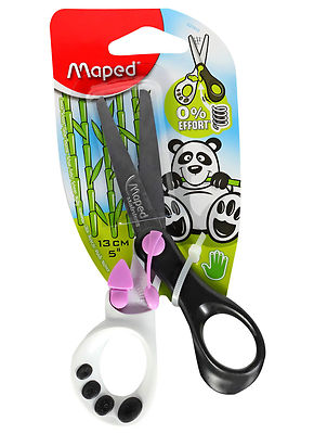 MAPED CHILDREN'S KIDS RIGHT HANDED SPRING ASSISTED SCISSORS LILAC