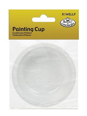 ROYAL & LANGNICKEL PLASTIC PAINT CUP PALETTE