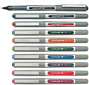 UNI-BALL EYE ROLLERBALL PEN UB-157 Wide Range of Colours Available