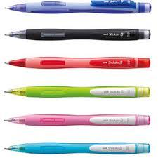 UNI-BALL SHALAKU MECHANICAL PENCIL 0.5mm - Available in 6 Great Barrel Colours